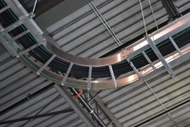 Unitray Cable Tray Systems Support Cable Management